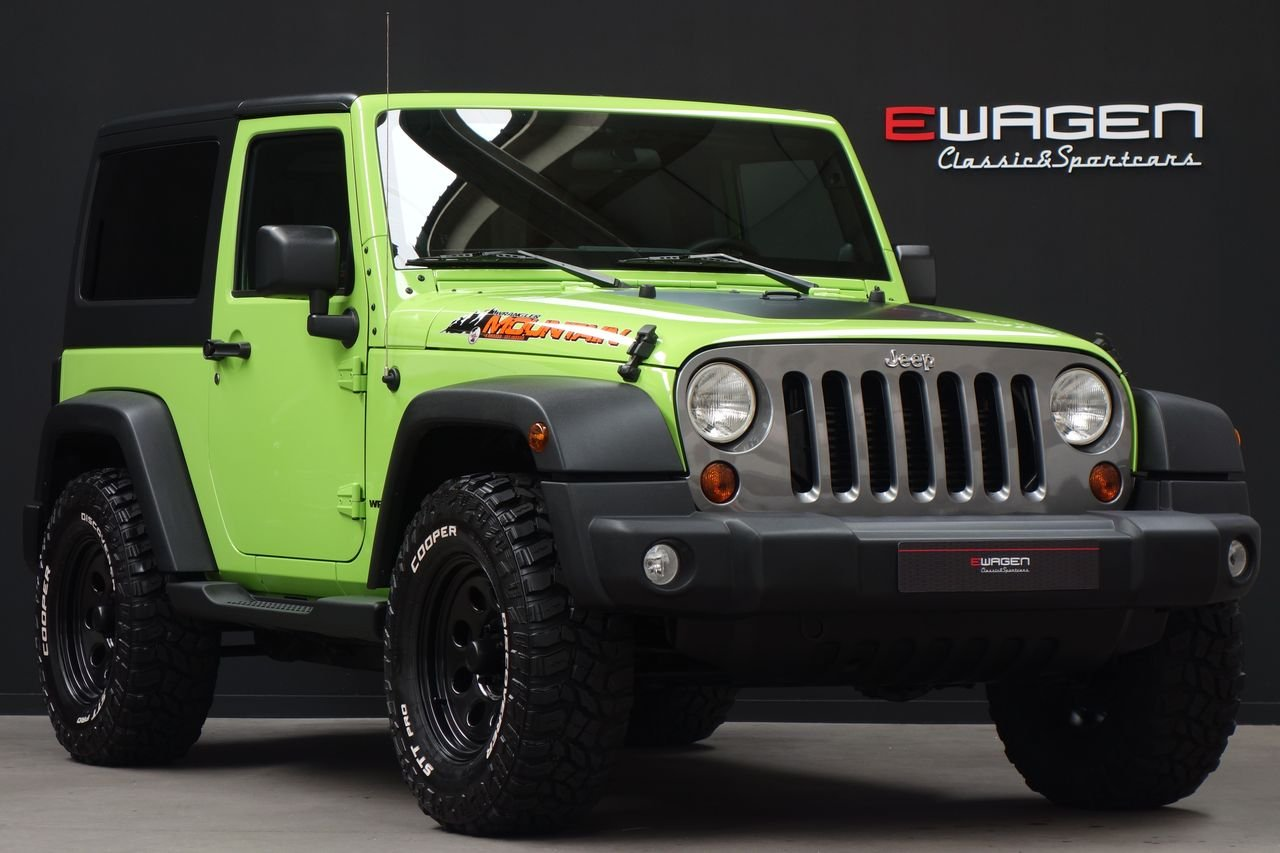 Jeep Wrangler JK 2.8 CRD Mountain AUT BigFoot.
