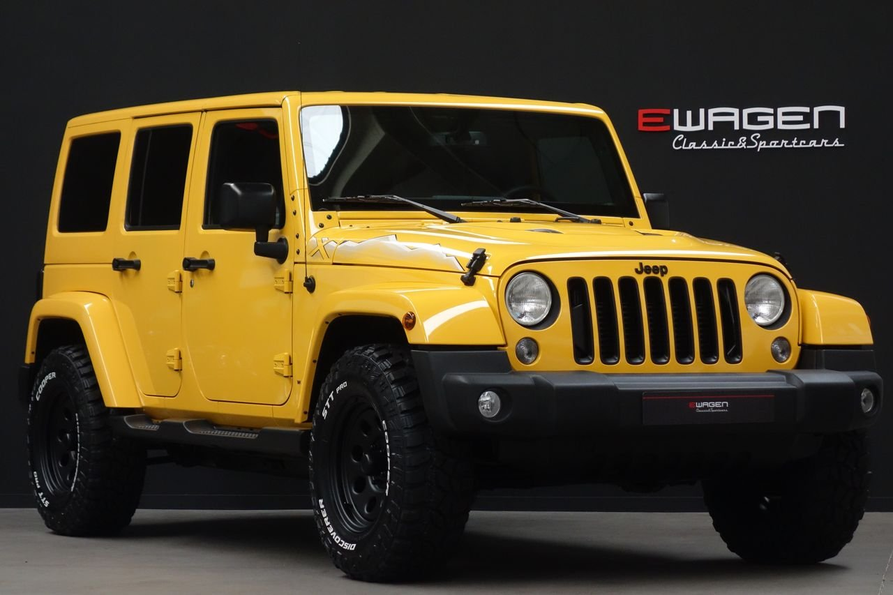 "Jeep Wrangler JK Unlimited 2.8 CRD Edicion ""X"" AUT BigFoot."