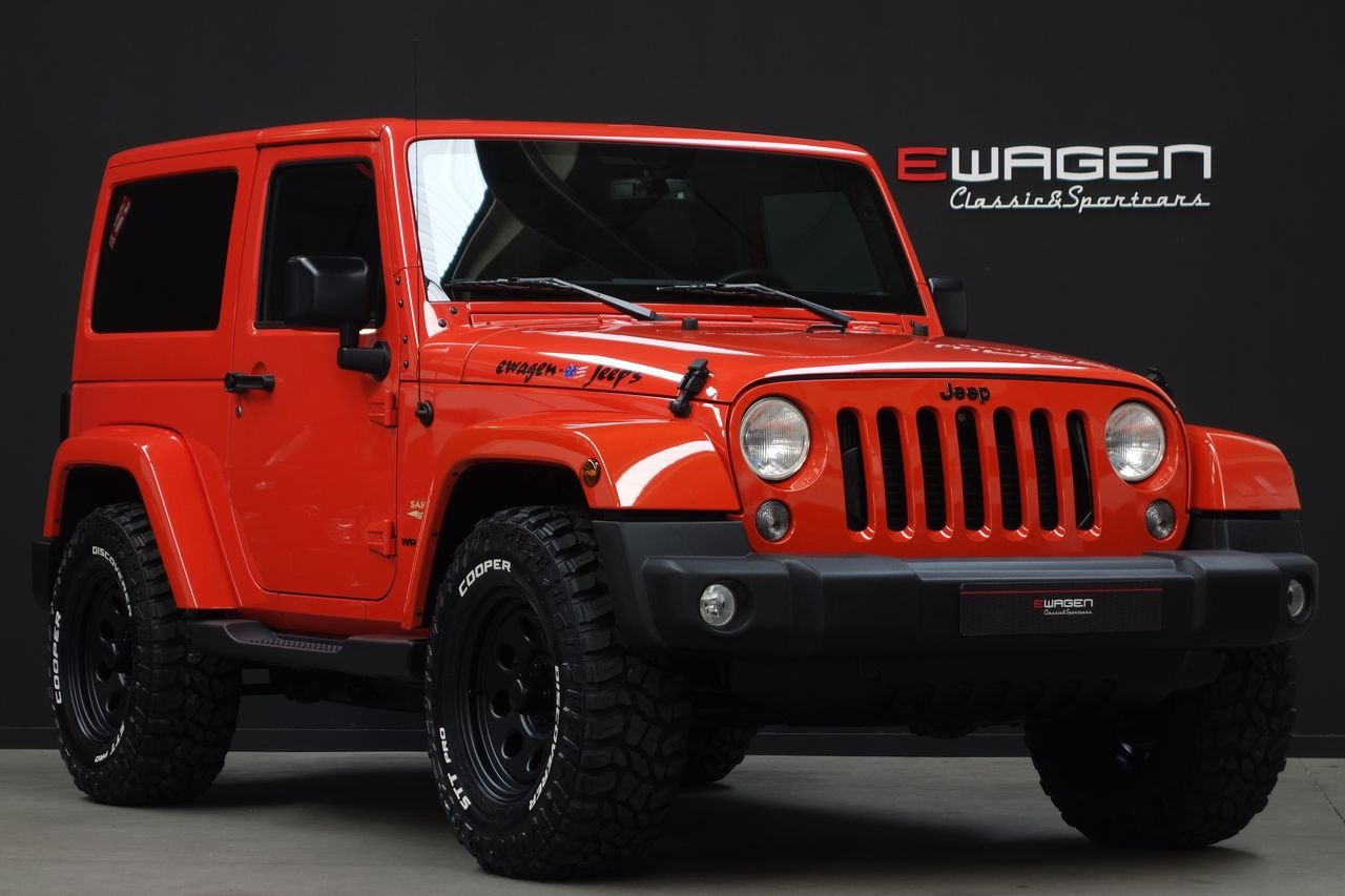 Jeep Wrangler JK 2.8 CRD Sahara AUT BigFoot.