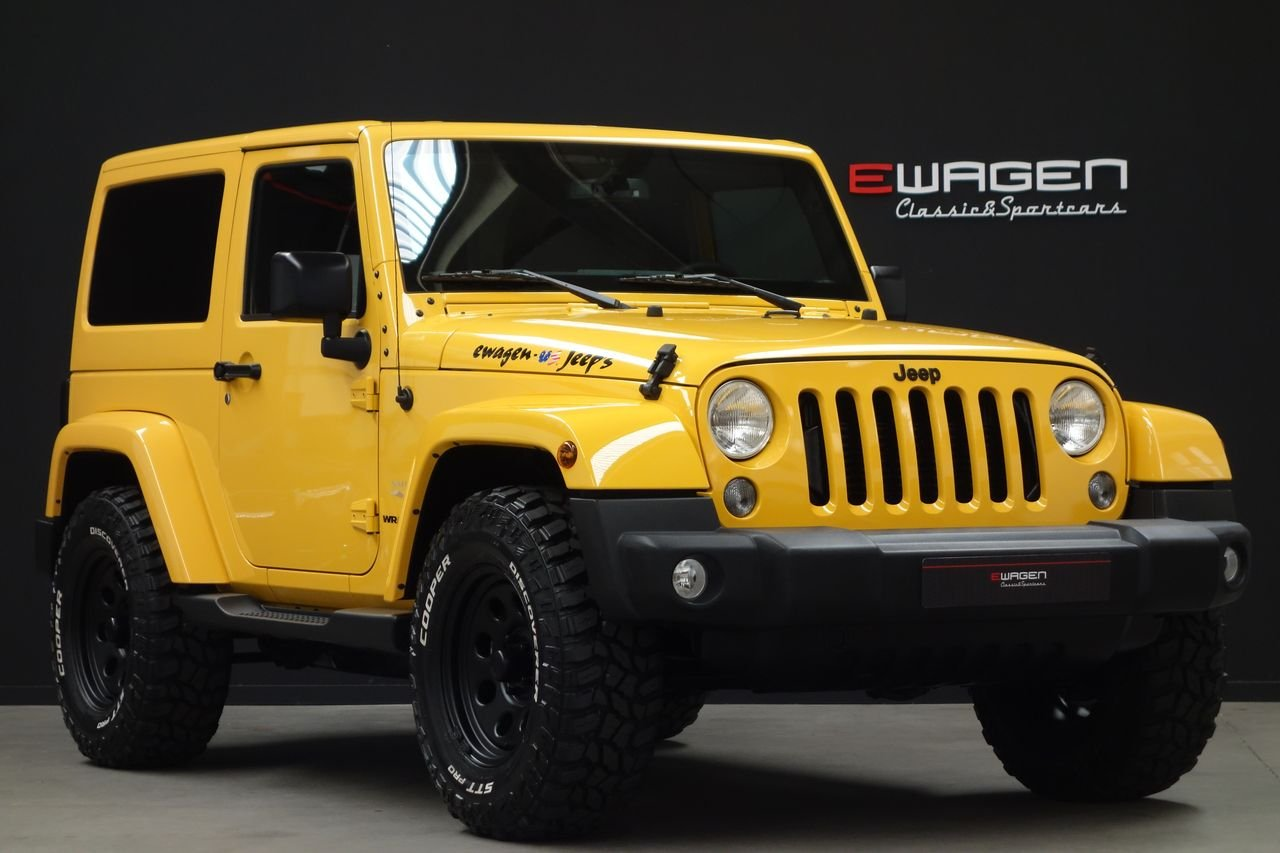 Jeep Wrangler JK 2.8 CRD Sahara AUT BigFoot